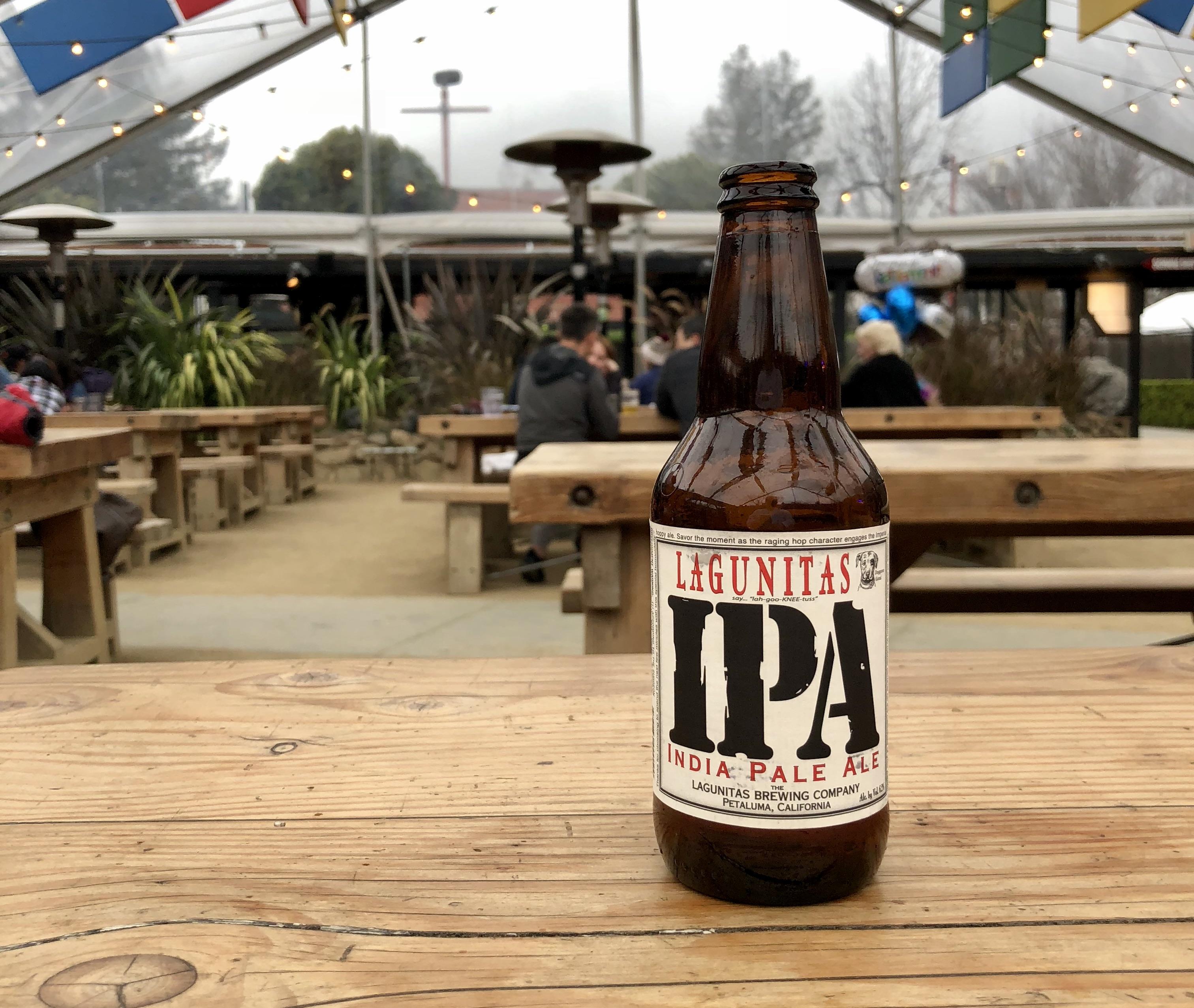 A Lagunitas IPA at the brewery in Petaluma, California.