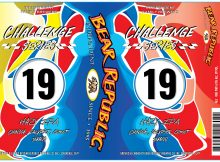Bear Republic Brewing Challenge Series #19 Hazy IPA Label