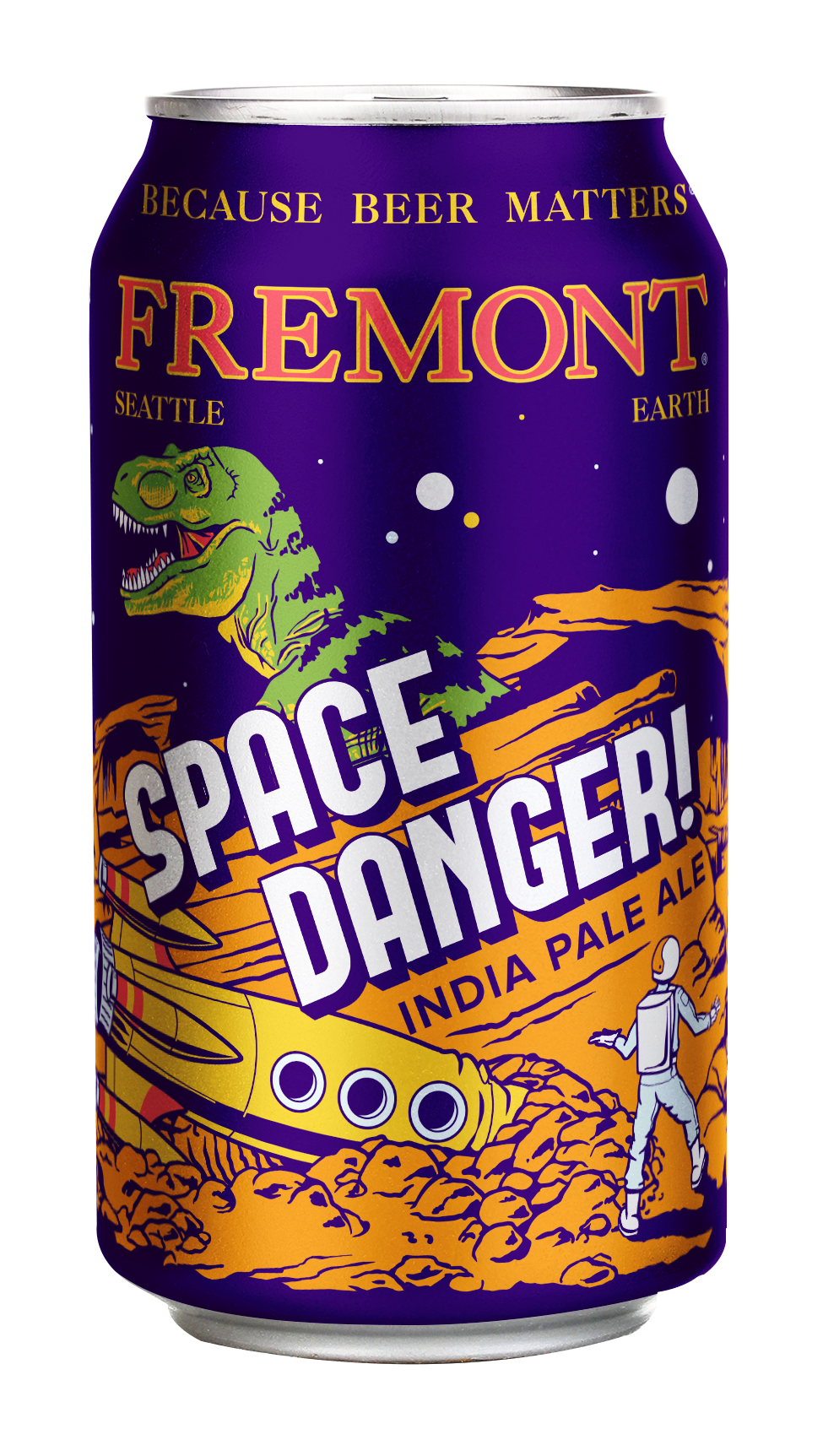 Fremont Brewing Space Danger IPA 12oz Can