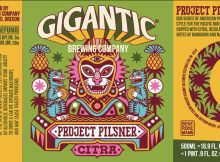 Gigantic Brewing Project Pilsner Citra Label