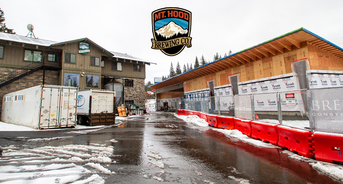 Mt. Hood Brewing Co. to expand with the new Brewery Barn in Government Camp, Oregon.