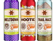New beers fronm Sixpoint Brewery for 2020 - Meltdown, Hootie, and Trail Haze.