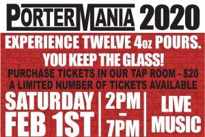 Wild Ride Brewing PorterMania 2020