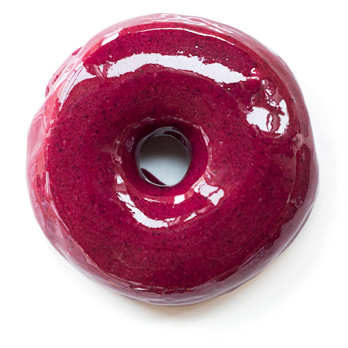 image of Blueberry Bourbon Basil courtesy of Blue Star Donuts