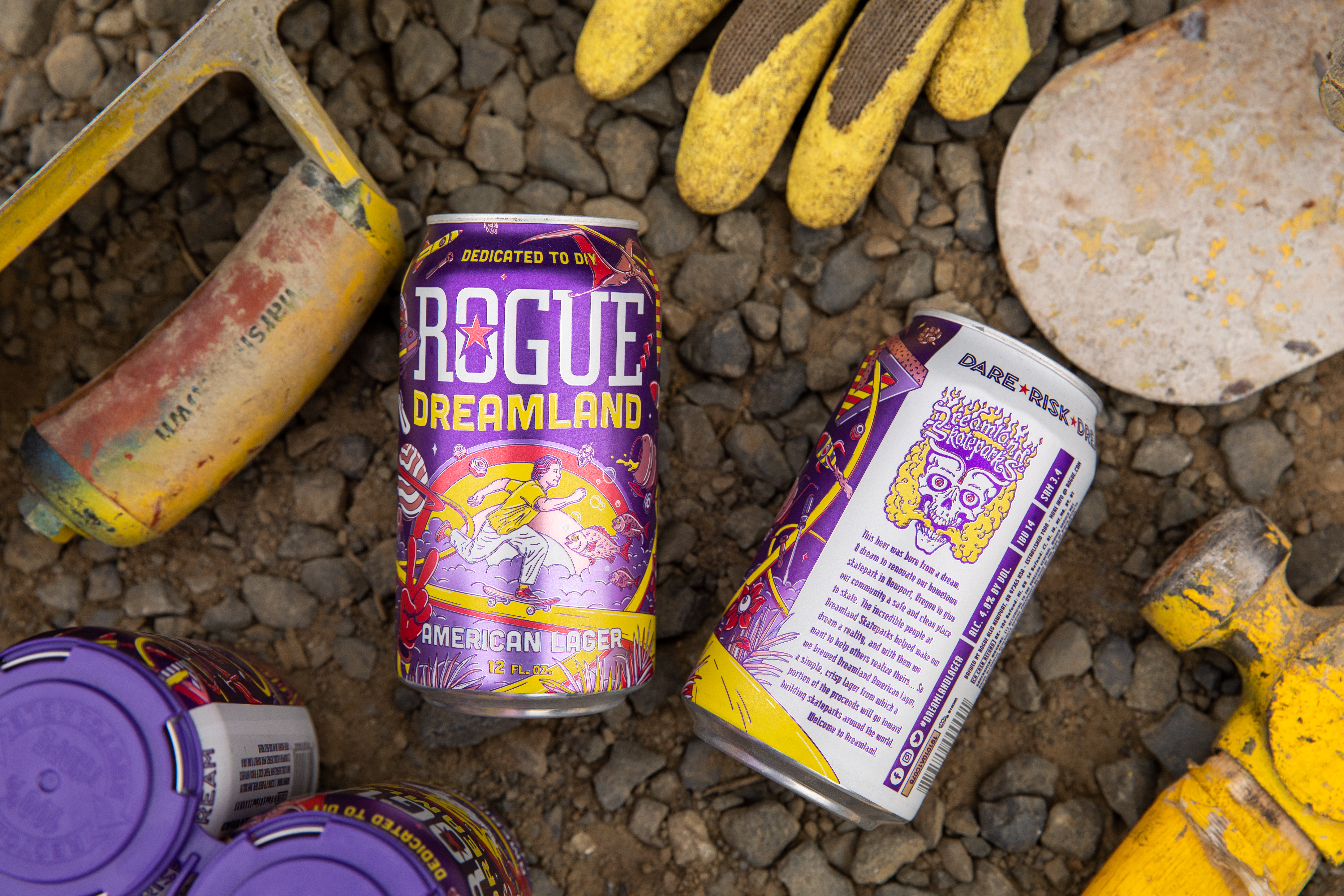 image of Rogue Ales Dreamland Lager courtesy of Rogue Ales