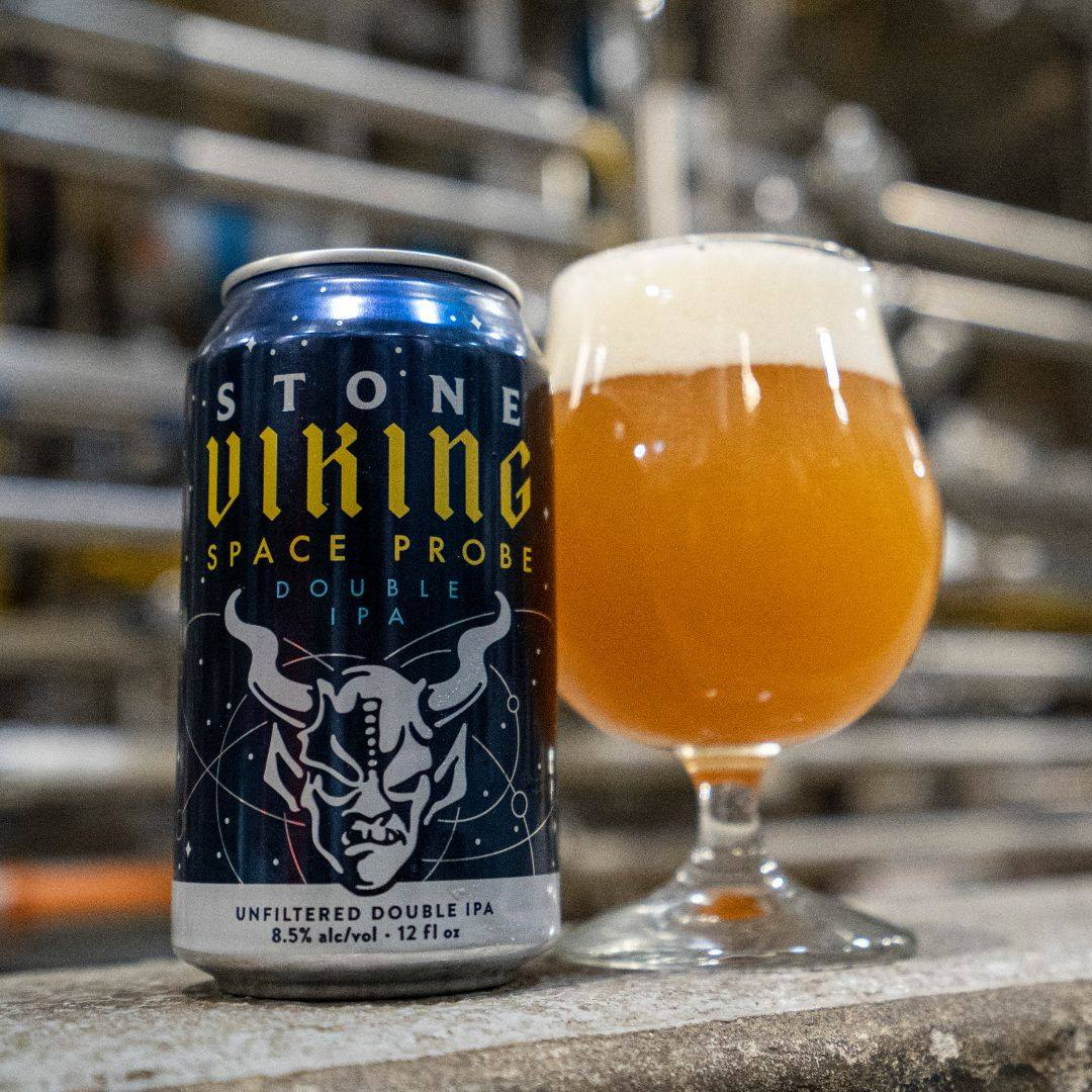 image of Stone Viking Space Probe Double IPA courtesy of Stone Brewing