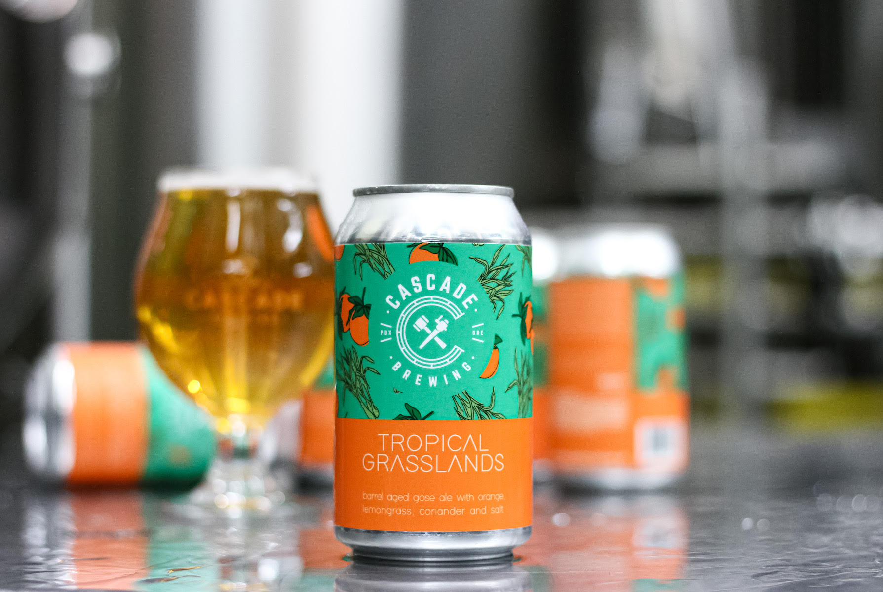 image of Tropical Grasslands courtesy of Cascade Brewing