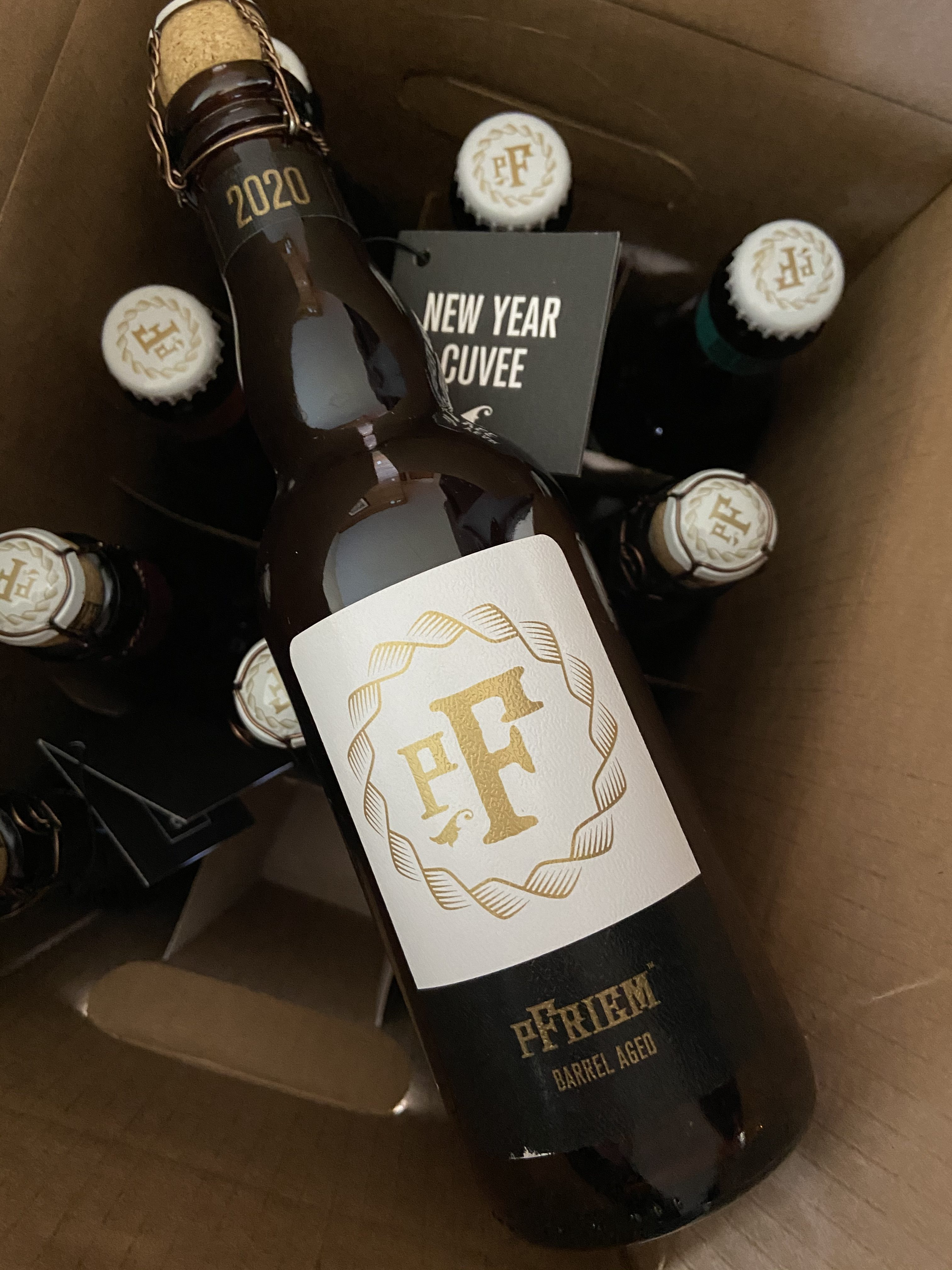A recent 12 pack offering from pFriem's Beer Club, pFriemsters Union Local 541.