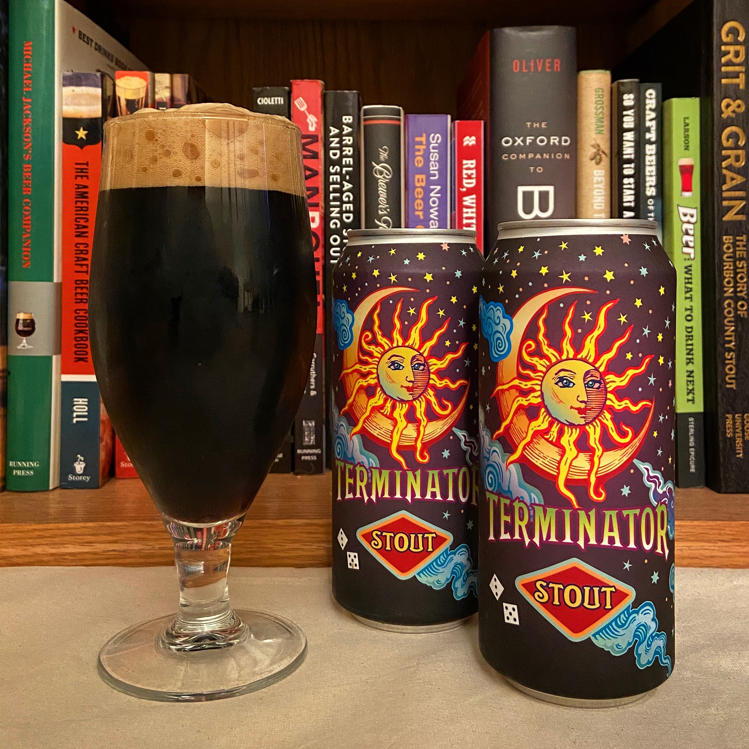 Cans of McMenamins Terminator Stout from its early 2020 can release in anticipation of the beer's 35th anniversary later this year.