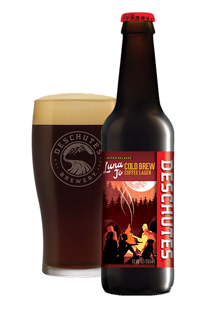Deschutes Brewery and Riff Cold Brewed Luna Jo Cold Brew Coffee Lager
