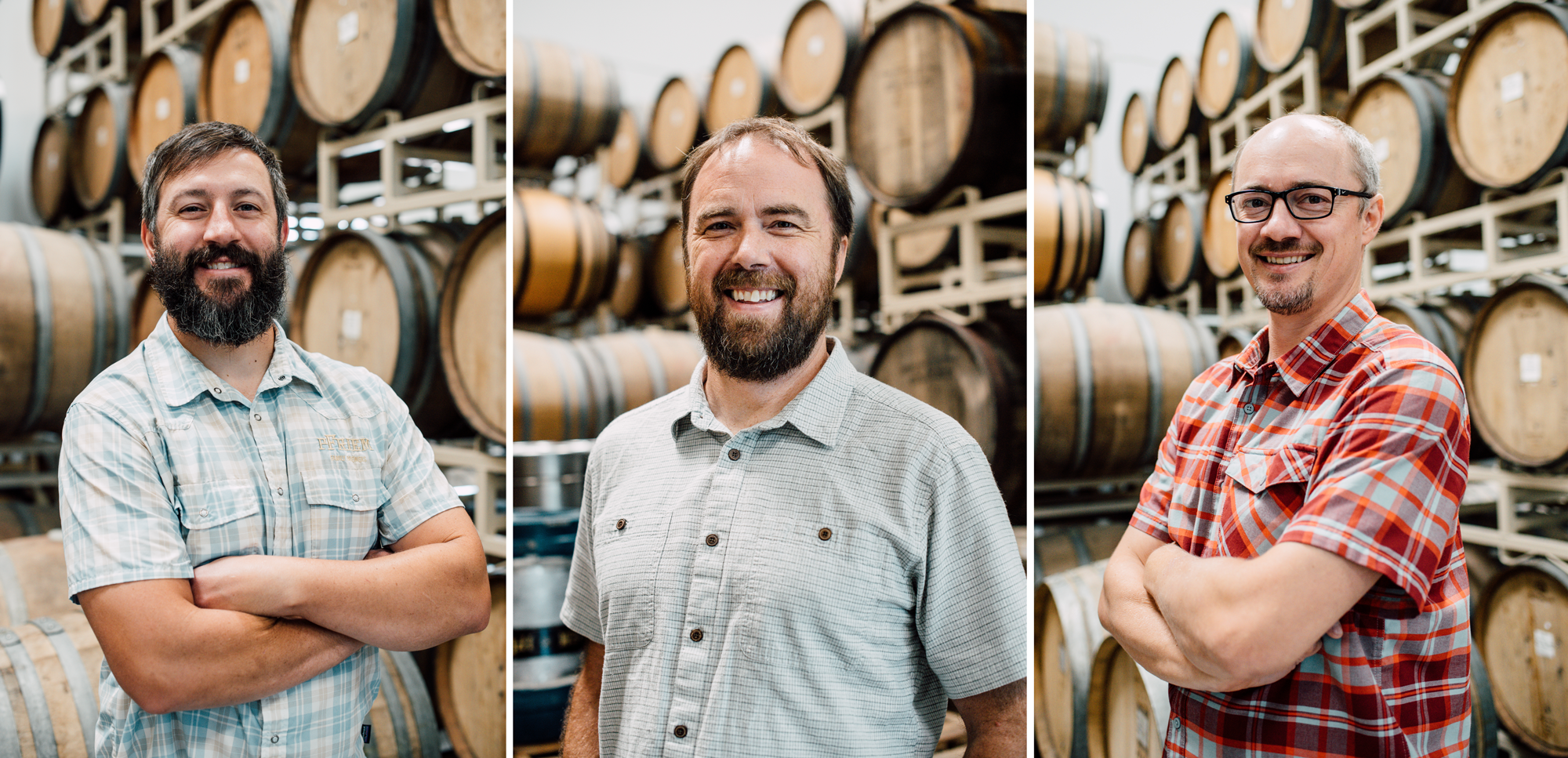 pFriem Co-Founders Josh Pfriem, Ken Whiteman, and Rudy Kellner. (image courtesy of pFriem Family Brewers).