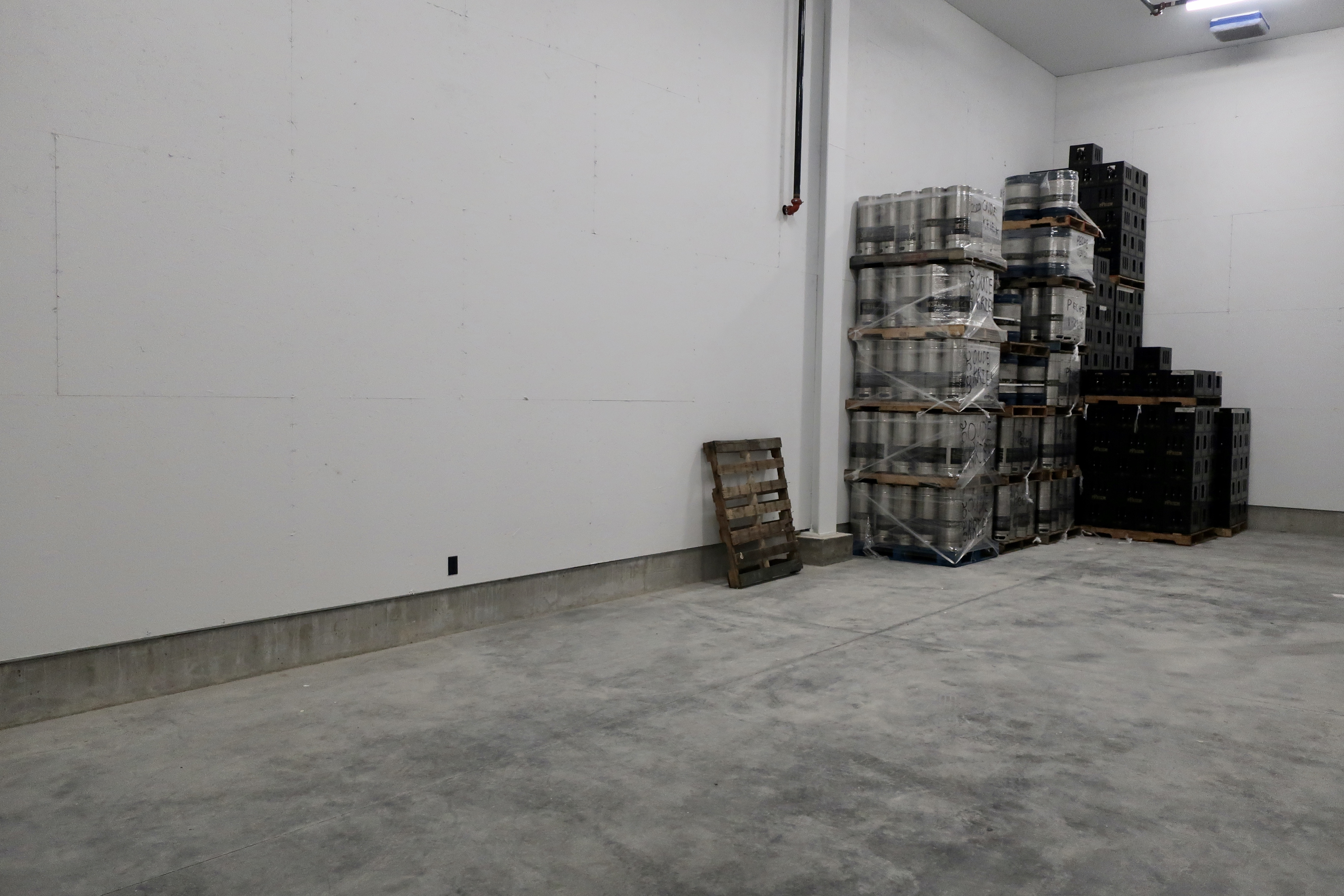 The warm room space forthcoming pFriem Family Brewers location in Cascade Locks, Oregon will be much larger than its current space in Hood River.