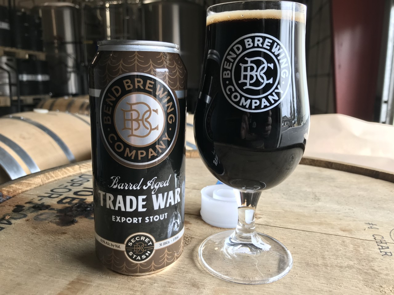 image of Barrel-Aged Trade War courtesy of Bend Brewing Co.