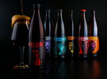 image of Hellboy Beer Box Set courtesy of Gigantic Brewing