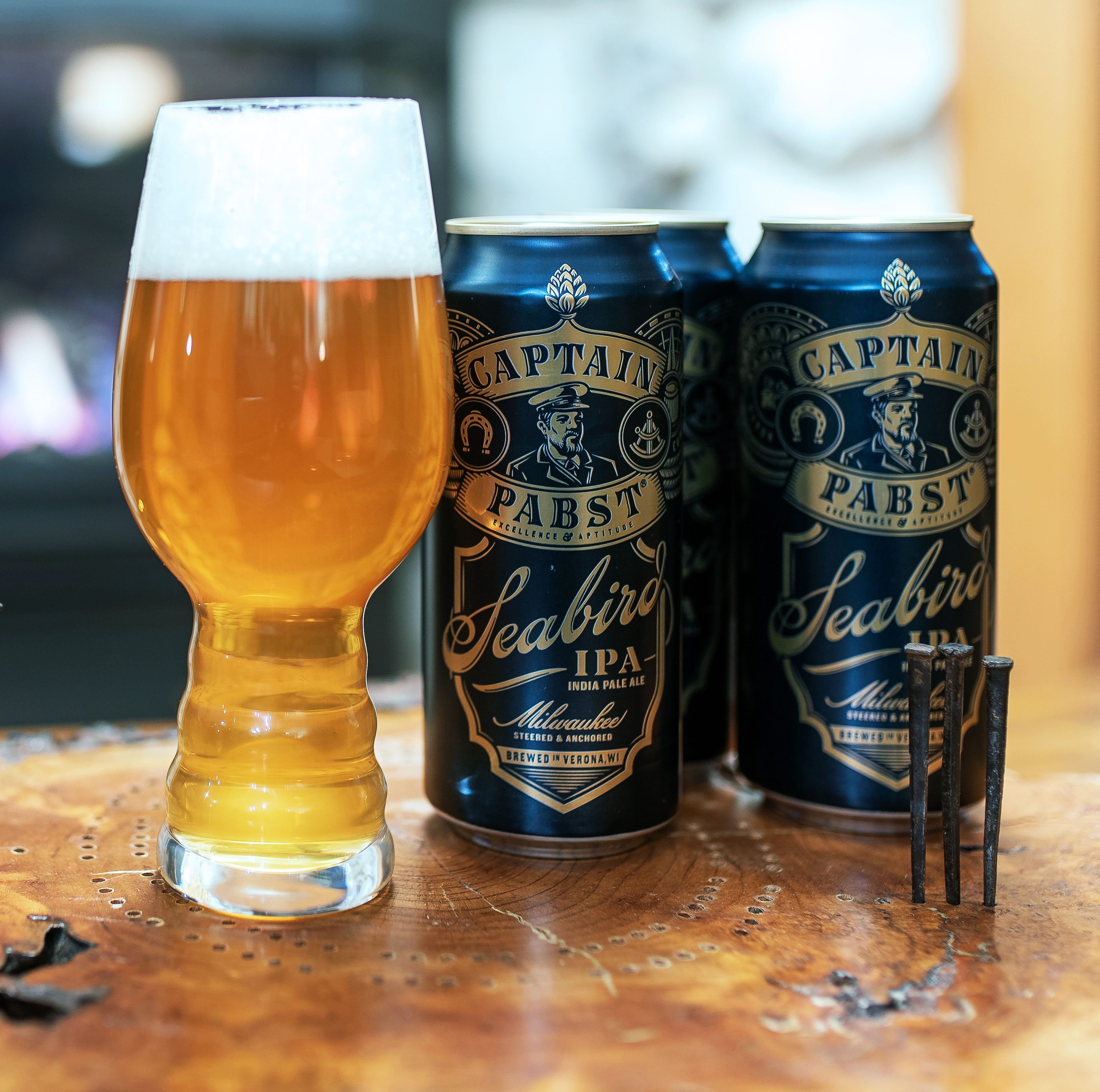 image of Captain Frederick Pabst Seabird IPA courtesy of Pabst Brewing