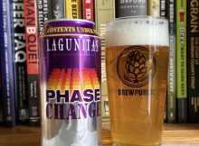 Lagunitas Brewing returns with its Phase Change - Wet-Hopped Juicy Ale but in 16oz cans for this year's release.