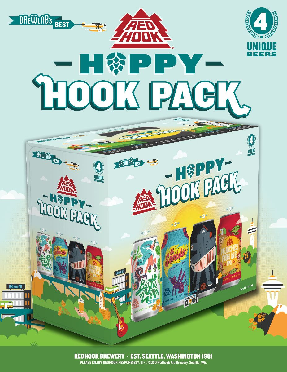 Redhook Brewery Hoppy Hook Pack 2020