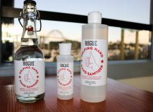 Rogue Ales & Spirits produces the much sought after hand sanitizer during this COVID-19 pandemic. (image courtesy of Rogue Ales & Spirits)