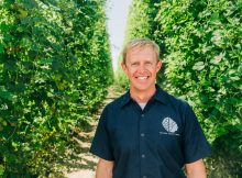 Ryan Hopkins, the new CEO at Yakima Chief Hops in Yakima, Washington. (image courtesy of Yakima Chief Hops)