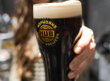 image of Evergreen Dry Irish Stout courtesy of Hopworks Urban Brewery