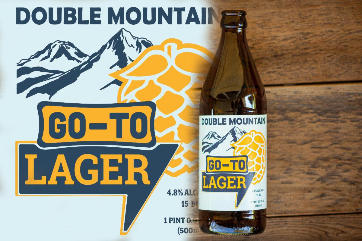 Double Mountain Go-To Lager