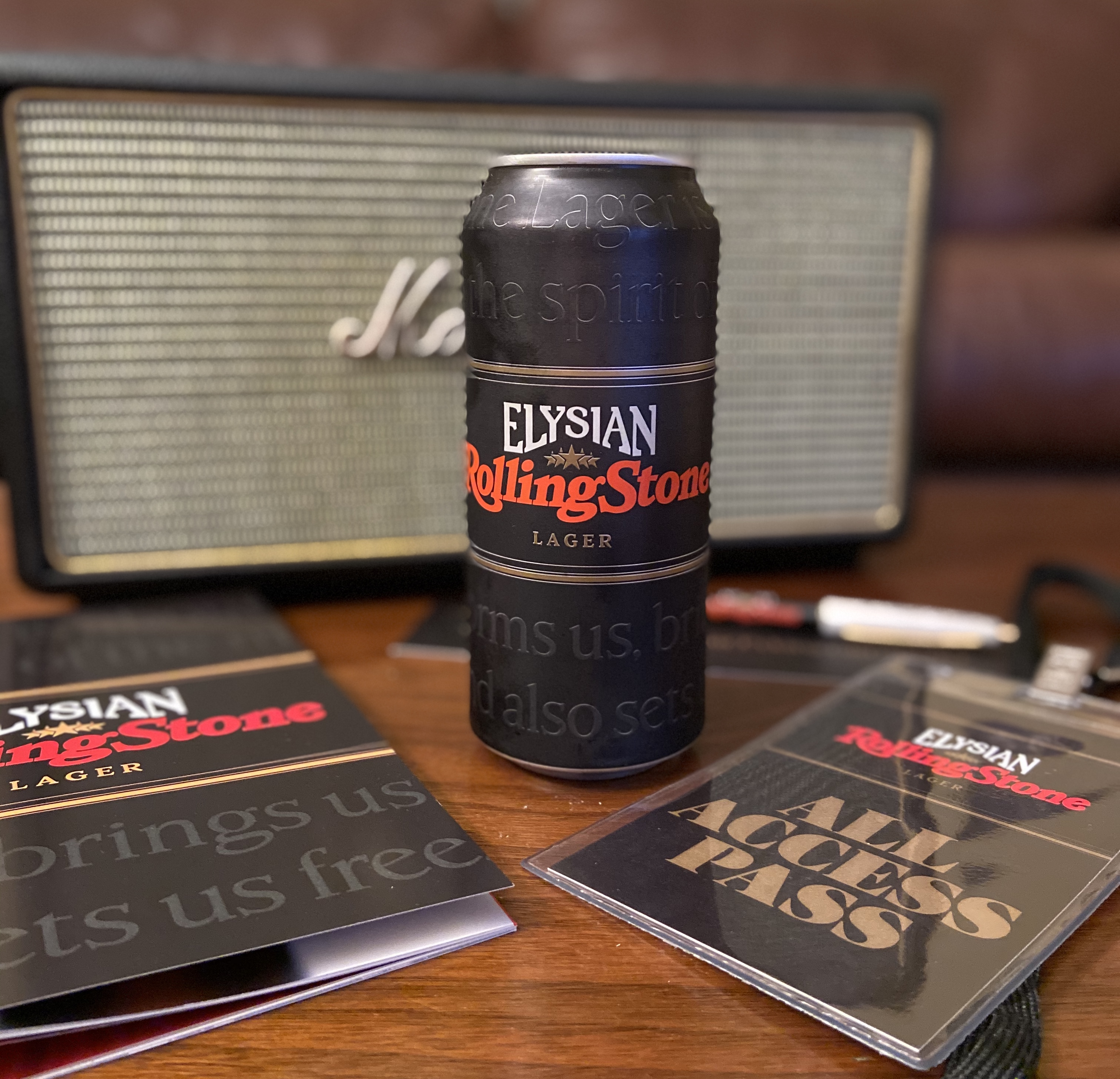 Elysian Brewing and Rolling Stone collaborate on Elysian Rolling Stone Lager.
