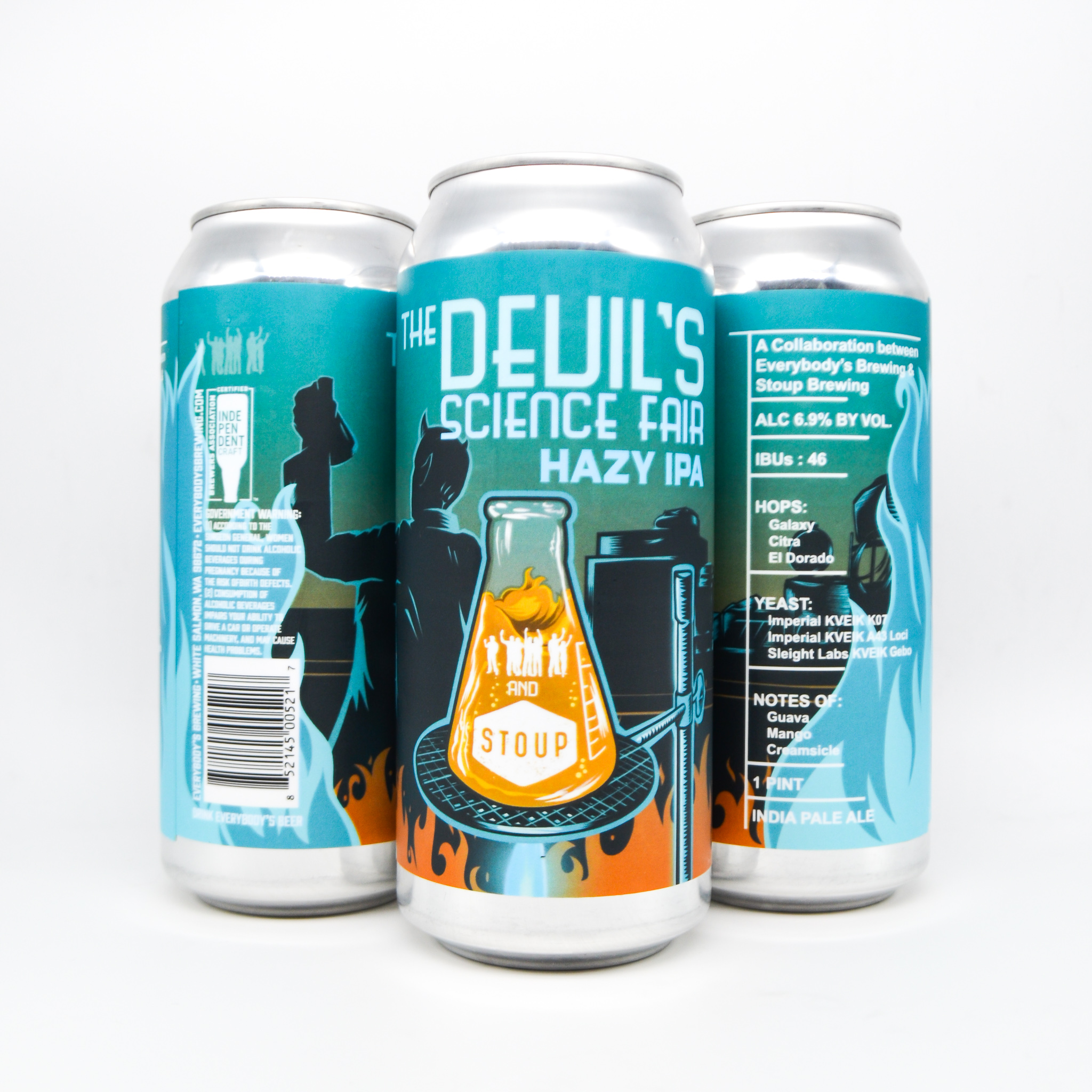 Everybody's Brewing and Stoup Brewing Collaborate on The Devil's Science Fair Hazy IPA