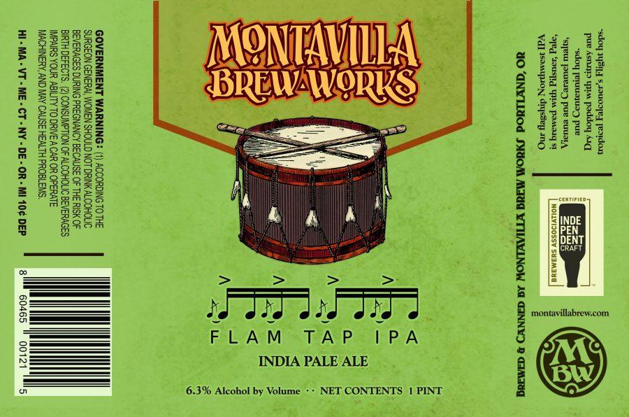 Montavilla Brew Works Flam Tap IPA