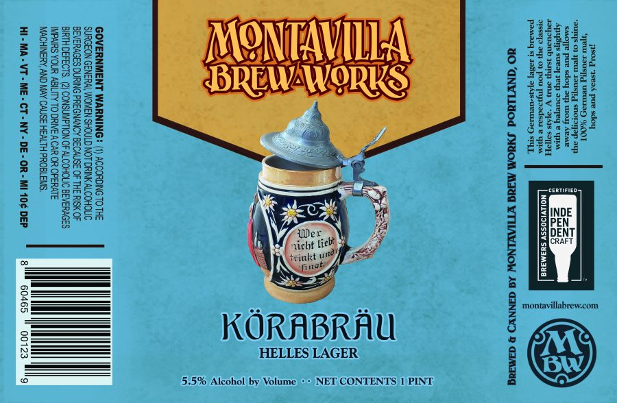 Montavilla Brew Works Korabrau Helles Lager