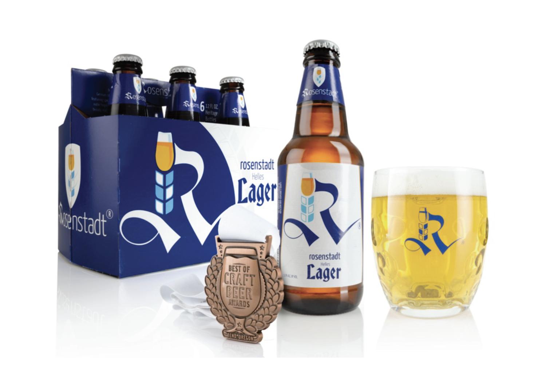 Rosenstadt Brewery Bottles its Helles Lager