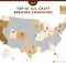 Top 50 U.S. Craft Brewing Companies 2019