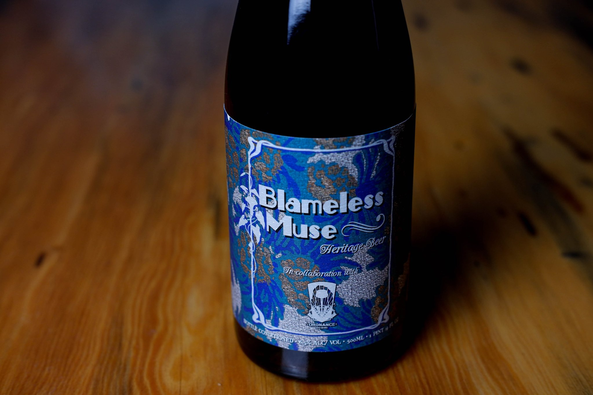 image of Blameless Muse courtesy of Von Ebert Brewing