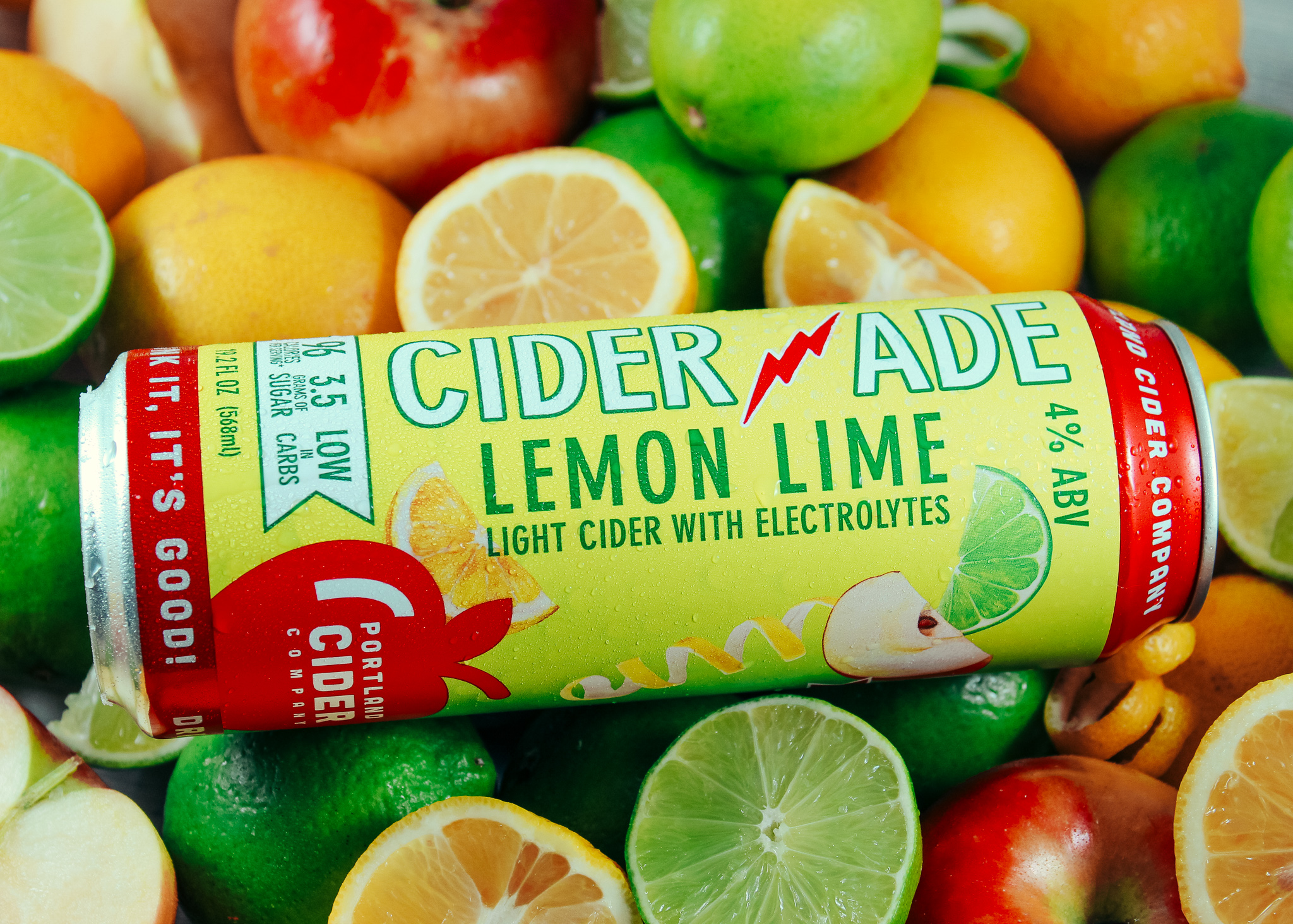 image of Ciderade courtesy of Portland Cider Co.