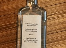 image of Hand Sanitizer courtesy of Hood River Distillers