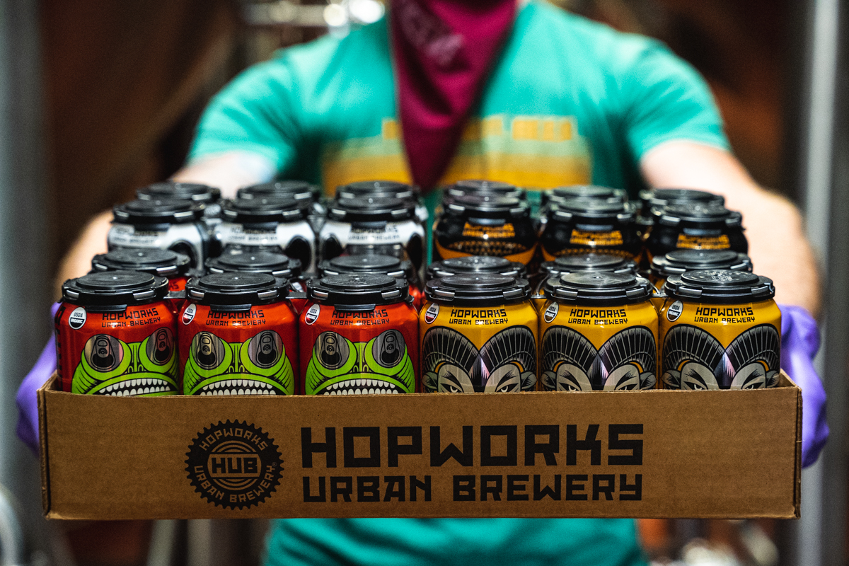 image of Home Hero Pack courtesy of Hopworks Urban Brewery