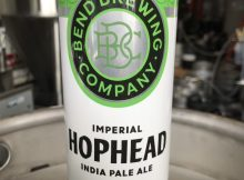 image of Hophead Imperial IPA courtesy of Bend Brewing Co.