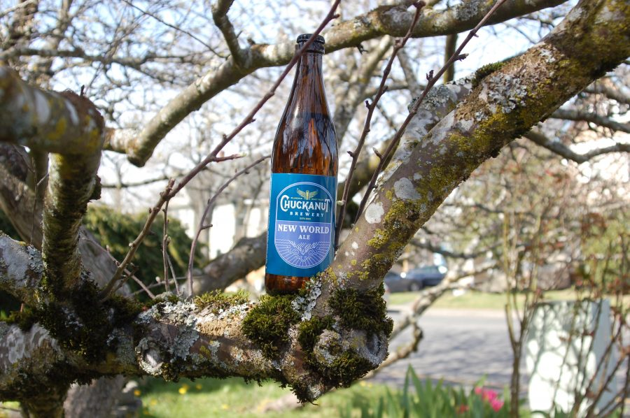 image of New World Ale courtesy of Chuckanut Brewery