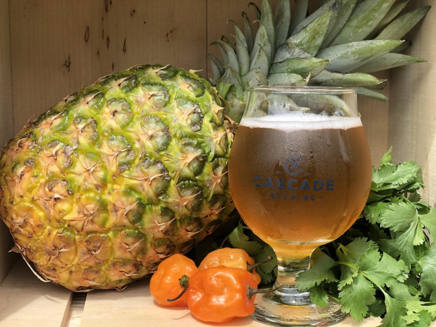 image of Pineapple Retreat courtesy of Cascade Brewing