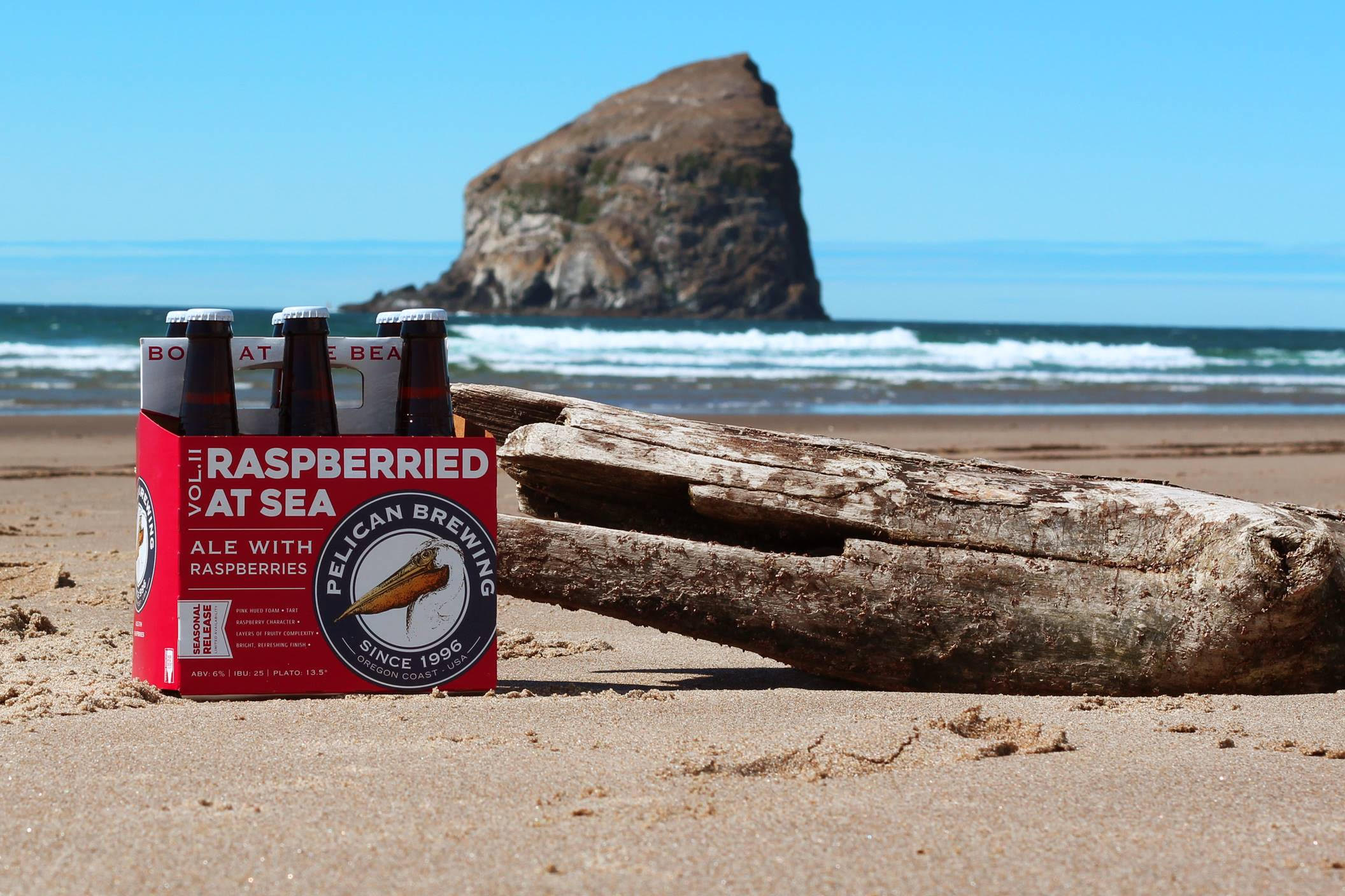 image of Raspberried at Sea Vol. II courtesy of Pelican Brewing