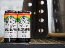 image of Razztafari Sour Ale Cans courtesy of Bend Brewing Co.
