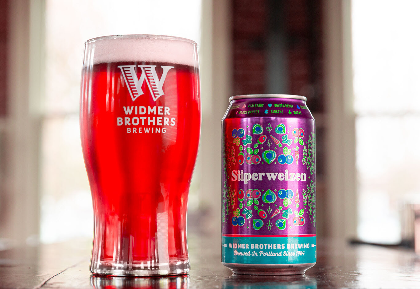 image of Superweizen courtesy of Widmer Brothers Brewing
