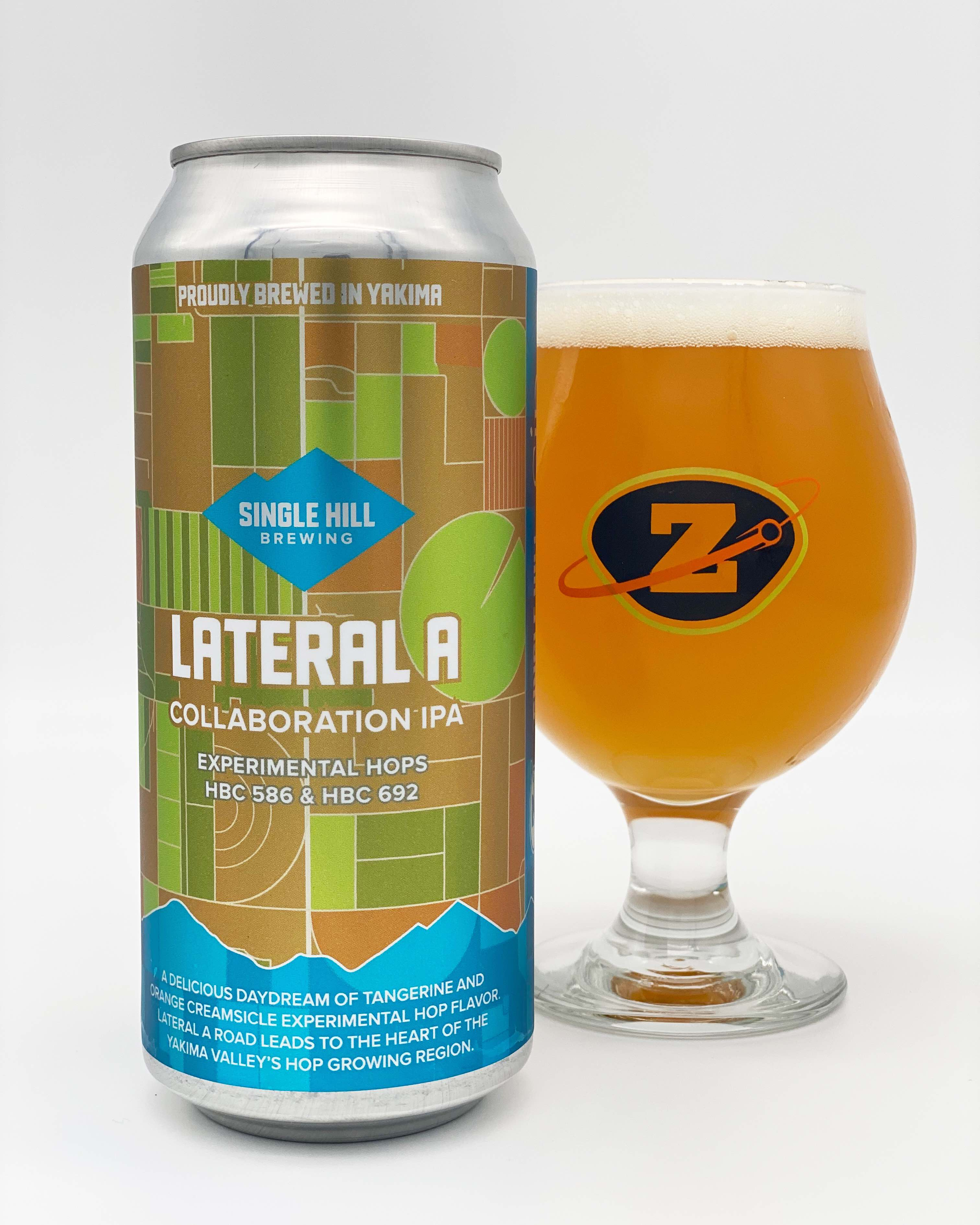 Single Hill Brewing, Zeeks Pzza and SIP Magazine collaborate on Lateral A IPA.