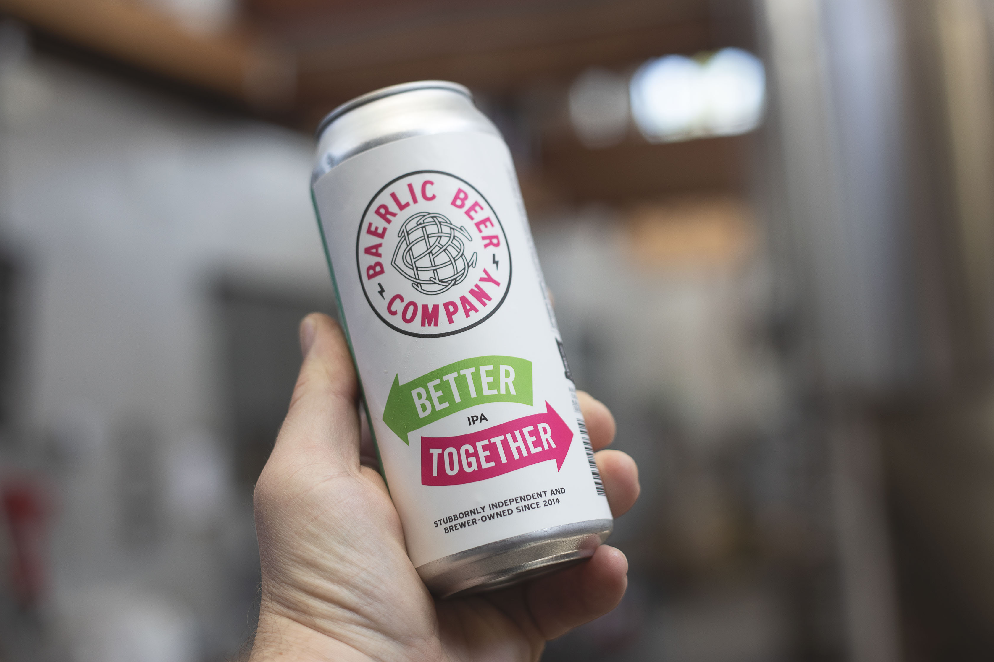 image of Better Together IPA courtesy of Baerlic Brewing