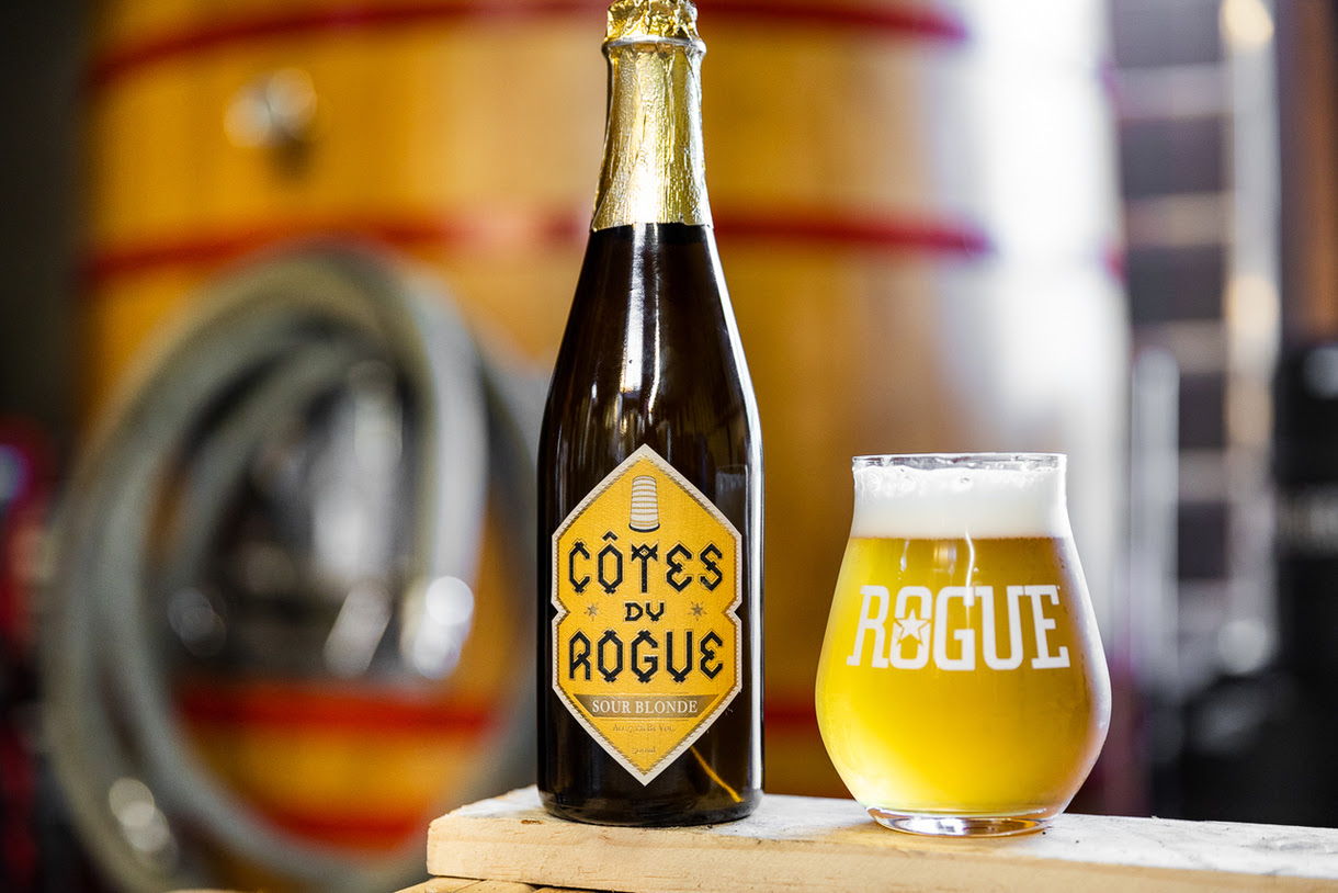 image of Côtes du Rogue courtesy of Rogue Ales