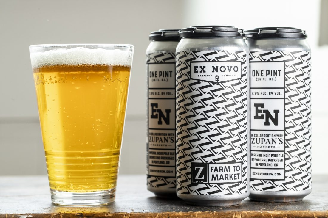 image of Ex Novo Farm to Market Imperial IPA courtesy Zupan's Markets