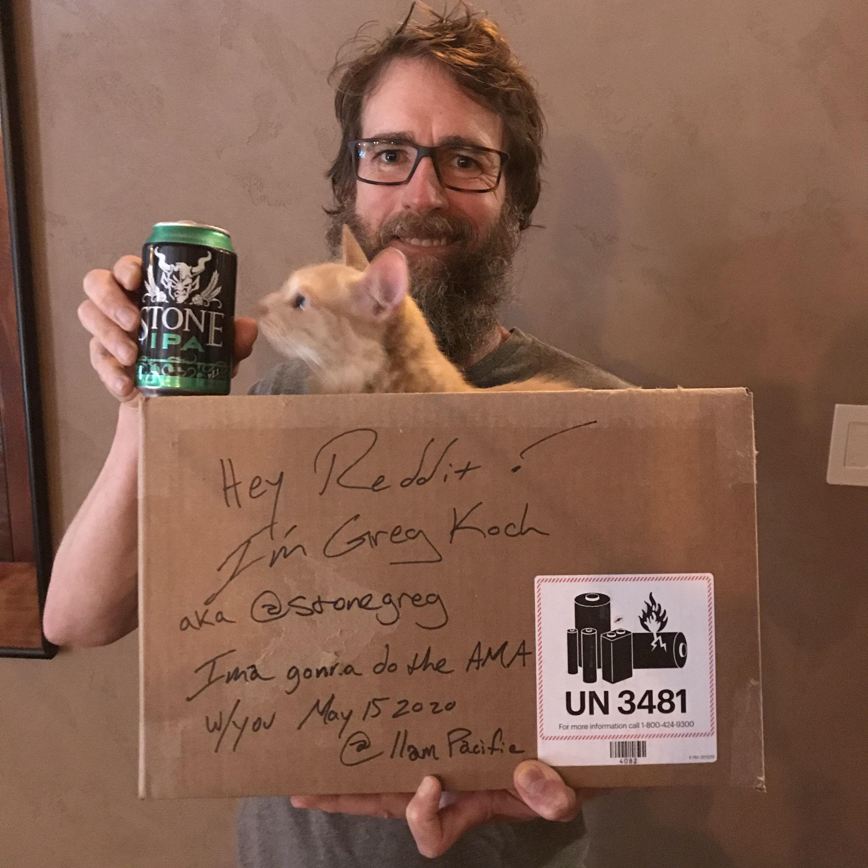 image of Greg Koch courtesy of Stone Brewing Co.