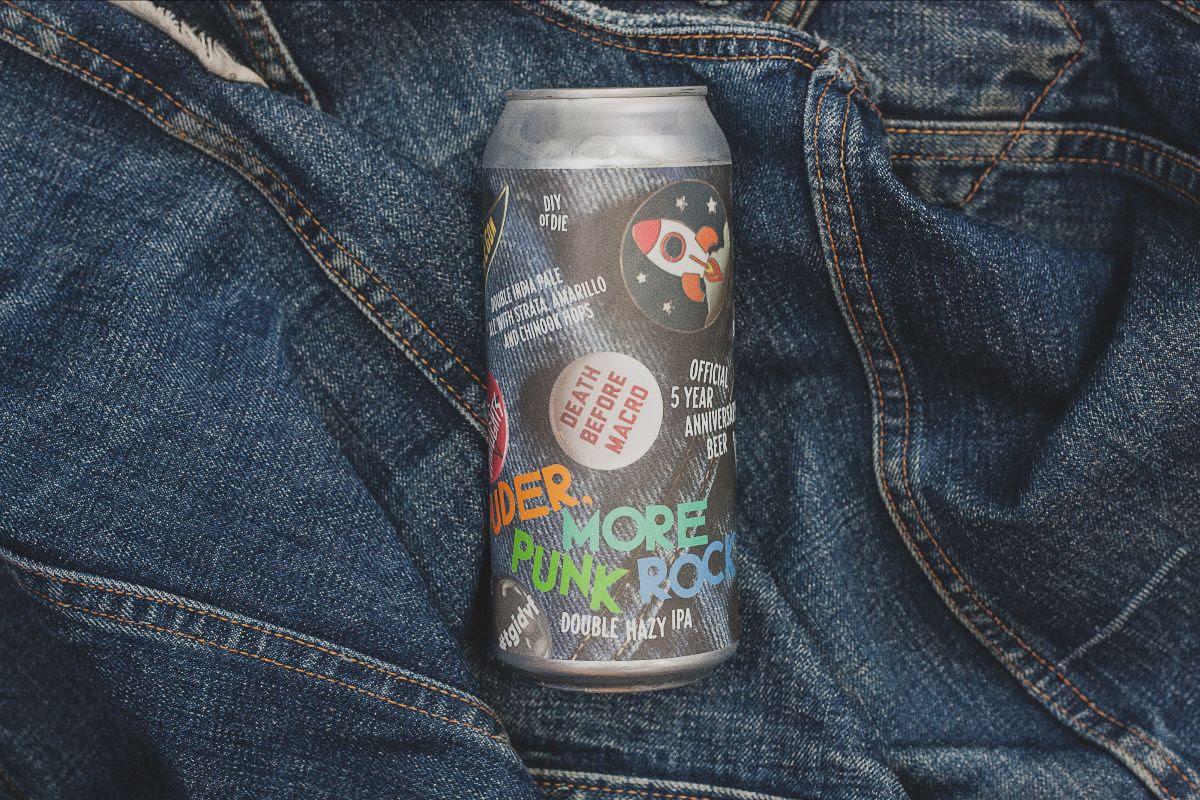 image of Louder, More Punk Rock IIPA courtesy of Baerlic Brewing