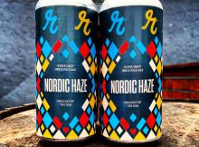 image of Reuben's Brews Nordic Haze - Kviek Hazy IPA courtesy of Reuben's Brews