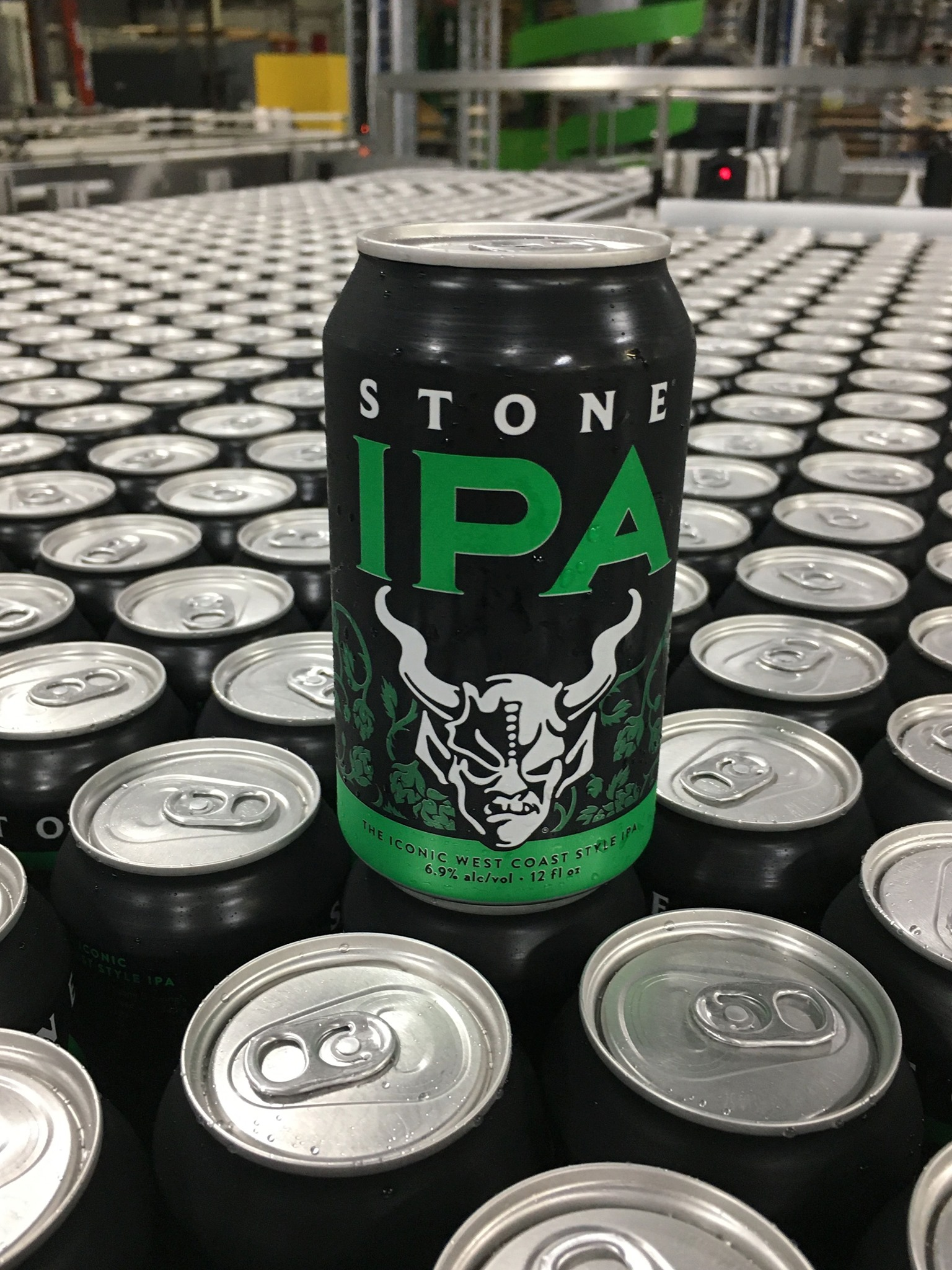 image of the classic Stone IPA courtesy of Stone Brewing Co.