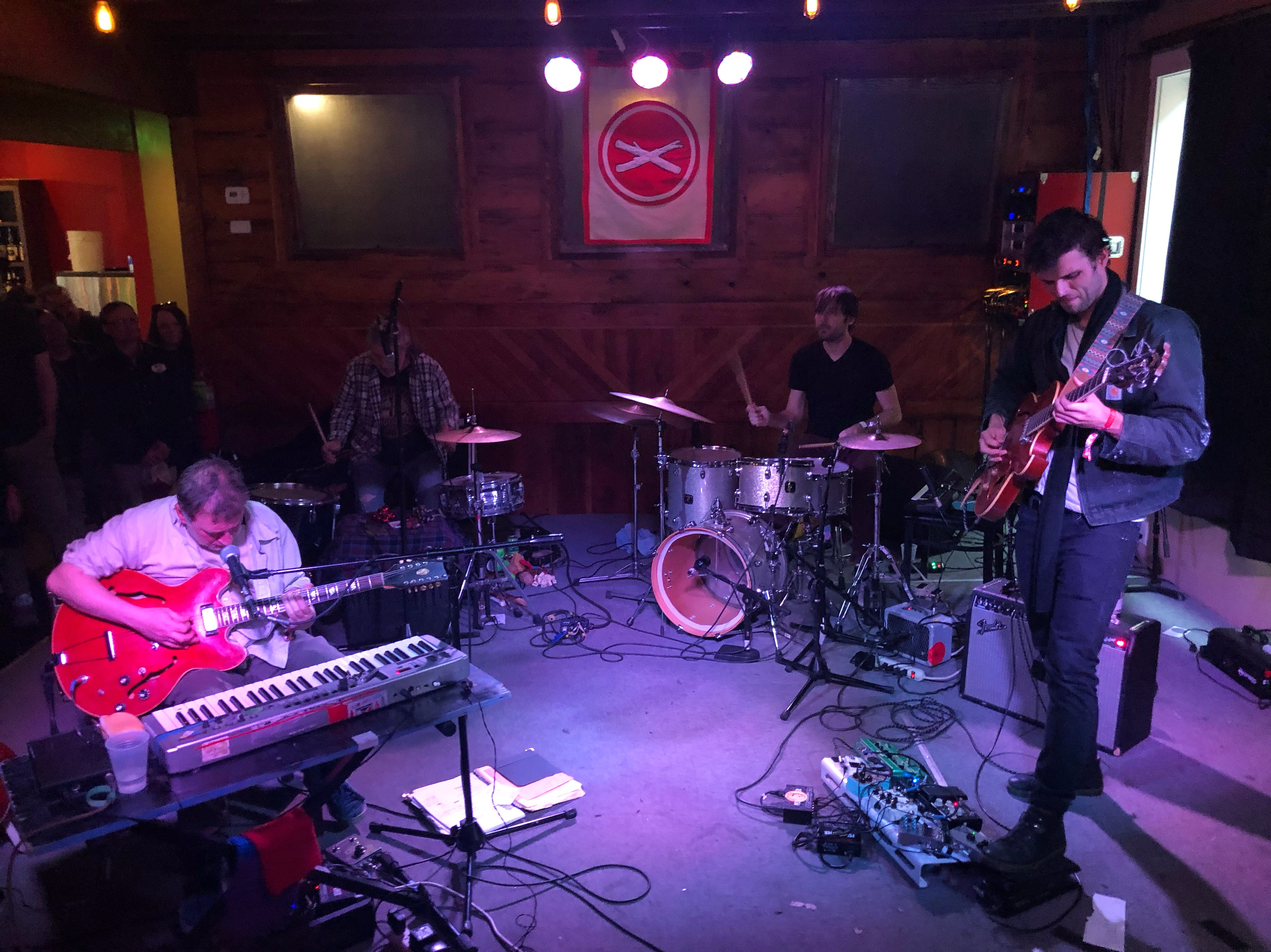 Califone performed an awesome set at the Olympic during the 2019 Treefort Music Fest.
